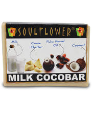Soulflower Milk Cocobar 100% Veg Soap - 150 Ms