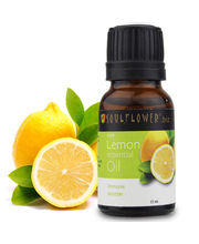 Soulflower Lemon Essential Oil - 15 Ml