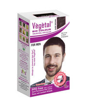 Vegetal Bio Colour For Men - Dark Brown - 25 Gms