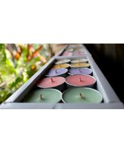 Indie Eco Candles - Tealight Assorted - Set Of 10