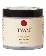 Tvam Body Butter-Rose, Honey, Litchi - 100 Gms