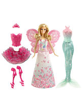 Barbie Mix & Match Fairytale Dress Up