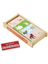 Wooden Animal With Their Baby (Learn With Fun)